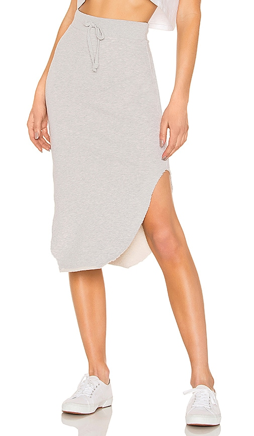 Tee Lab Long Fleece Skirt