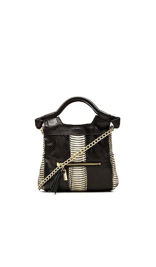Foley + Corinna Tiny City Bag in Chalk Snake Combo