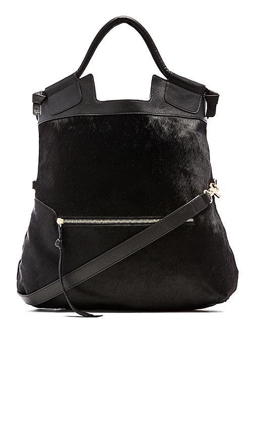 Foley + Corinna Mid City Bag in Black Haircalf