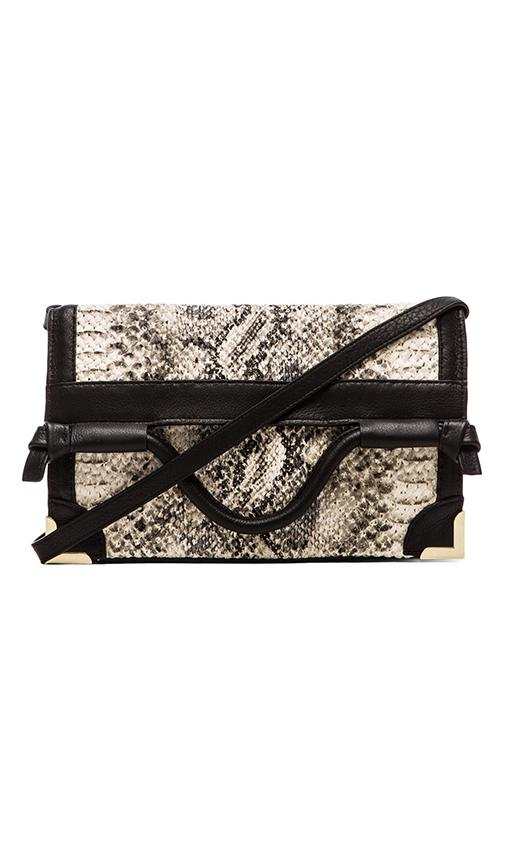 Framed Flap Crossbody