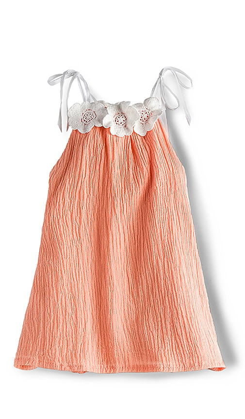 For Love & Lemons Willa Jean Tank Dress in Orange