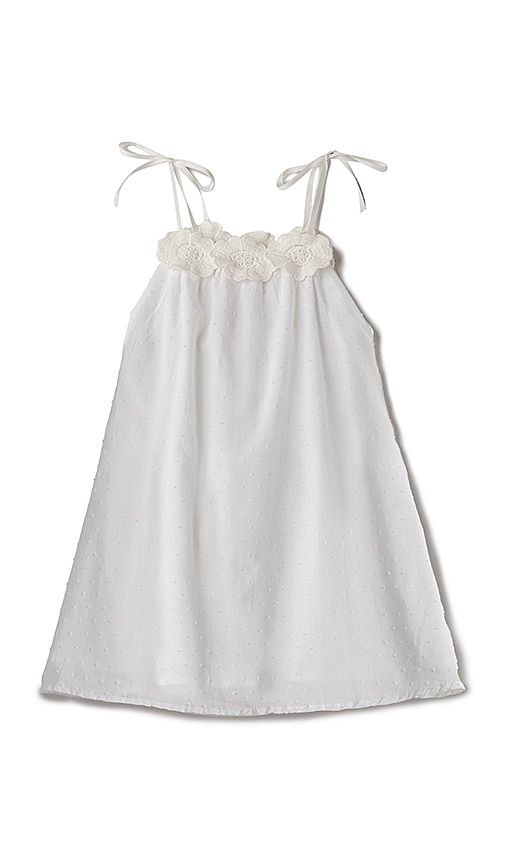 For Love & Lemons Willa Jean Tank Dress in White
