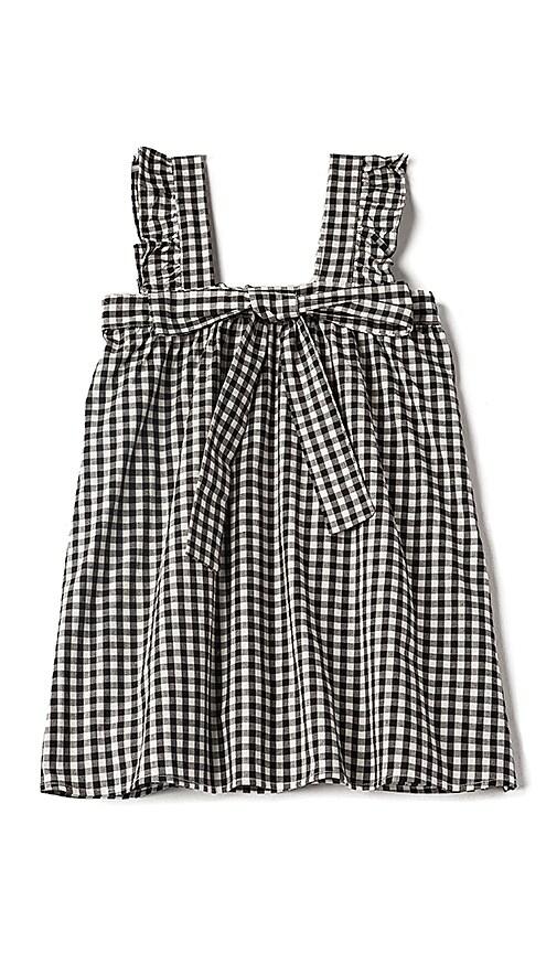 For Love & Lemons Bo Peep Tank Dress in Black
