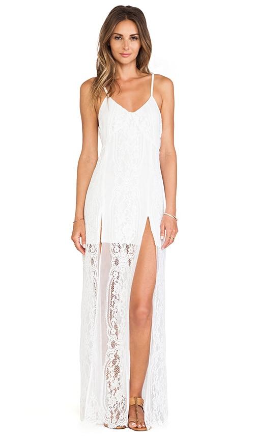 Long Horn Maxi Dress