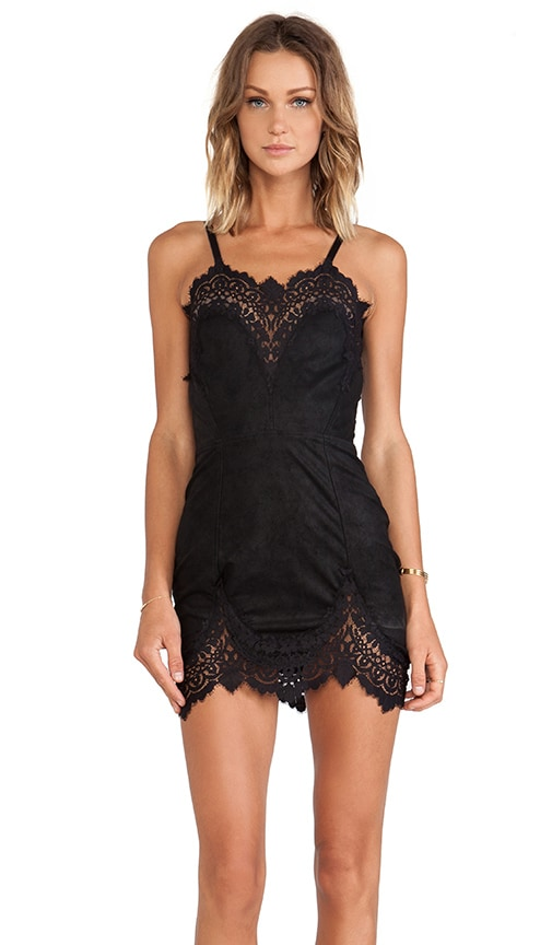 Giddy Up Suede Dress