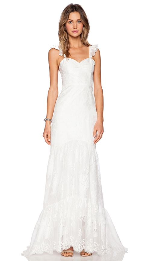 For Love Lemons X Revolve Gillian Wedding Dress In White Revolve Is a series to help you style the best outfits for any and every event on your social calendar. revolve