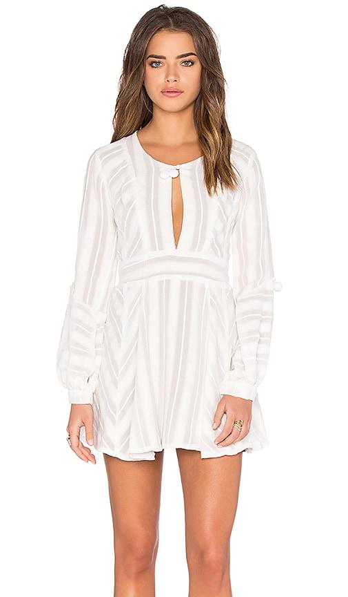 For Love & Lemons Alessandra Dress in White