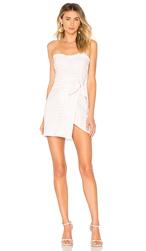 Dixie Mini Dress in Blush. - size L (also in M,S,XS) For Love & Lemons