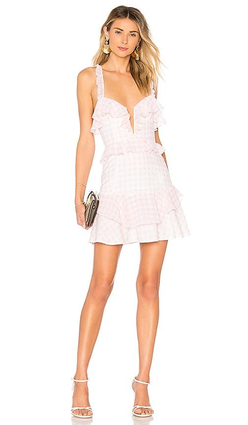 Dixie Ruffled Mini Dress