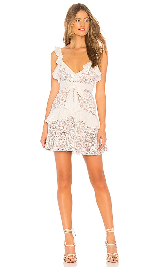 X REVOLVE Lace Mini Dress
