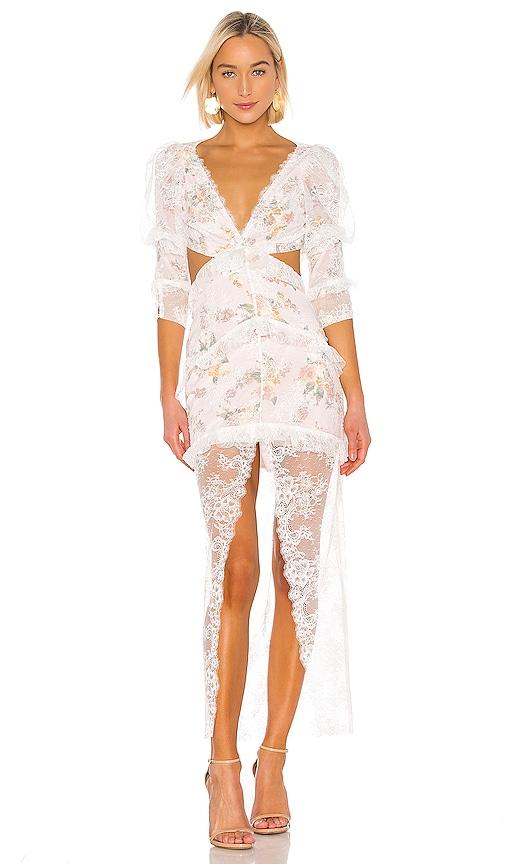 03fd09b27f For Love & Lemons Pearl Maxi Dress in Blush | REVOLVE
