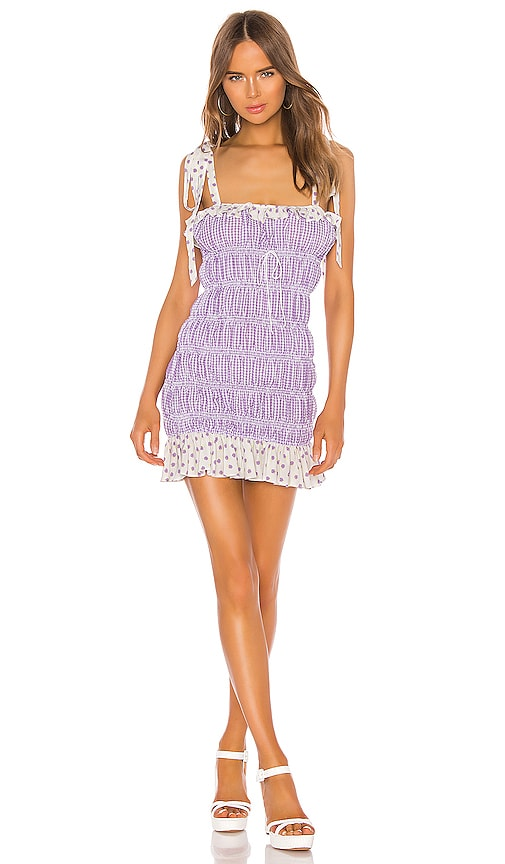 Lilac Mini Dress