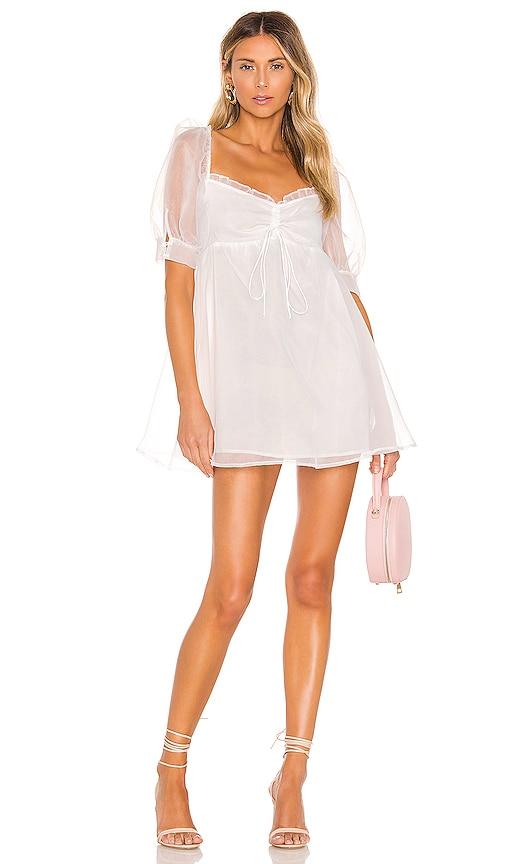 X REVOLVE Cinched Babydoll Dress