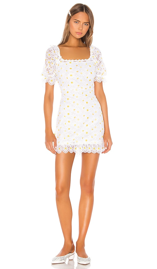 Brulee Daisy Mini Dress