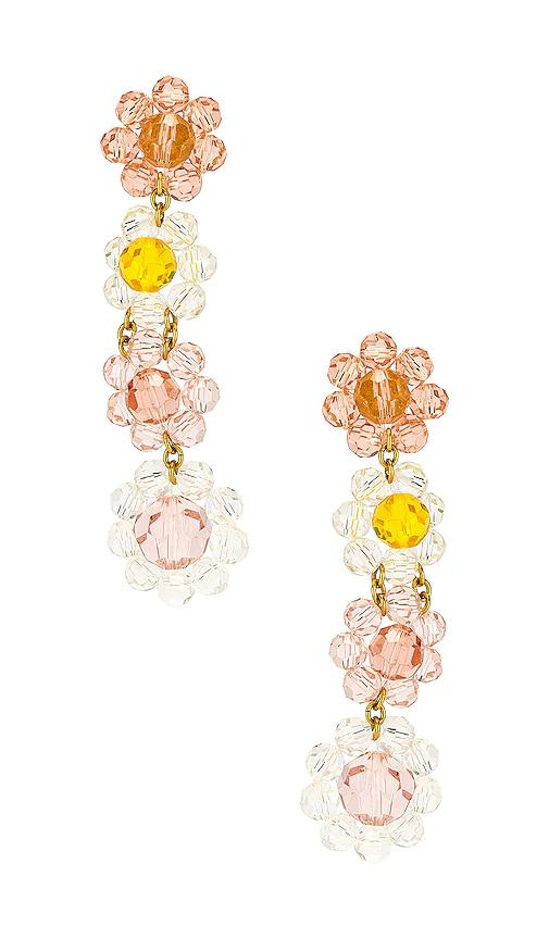 Bouquet Beaded Earrings