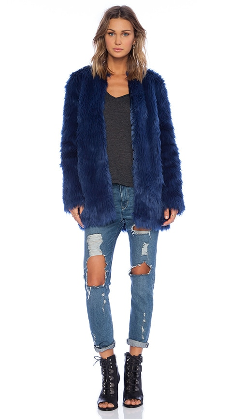 Wanderlust Faux Fur Jacket