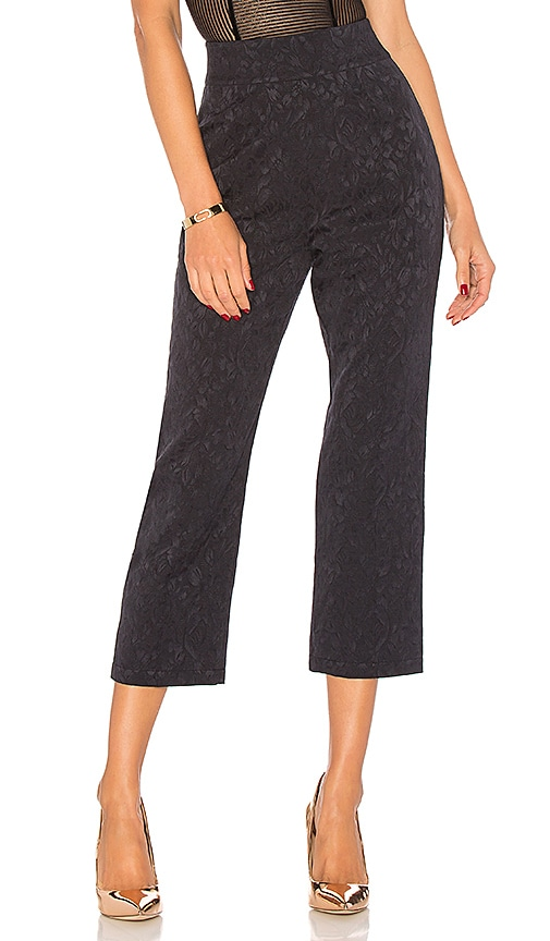 For Love & Lemons Luella Cigarette Pant in Navy