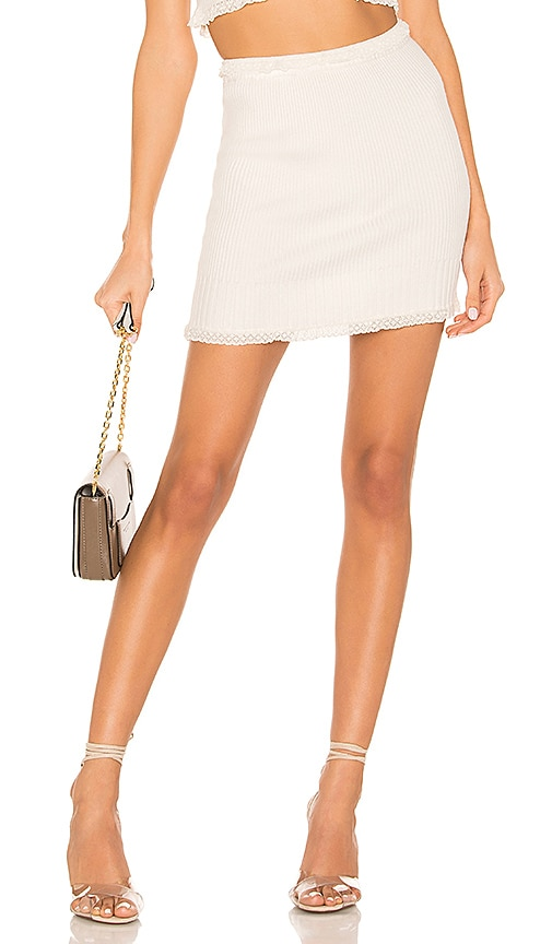 Britney Ruffle Mini Skirt