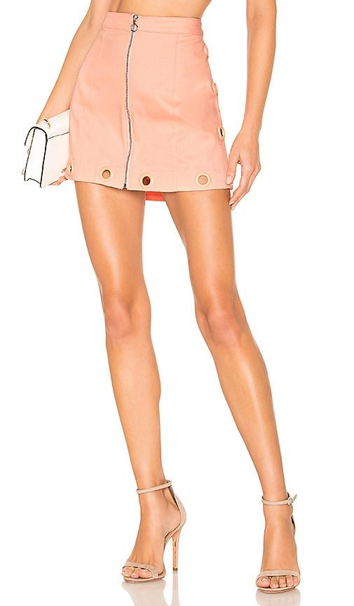 Creme Puff Mini Skirt