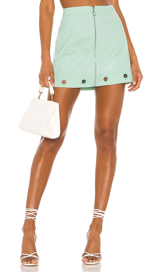 Creme Puff Mini Skirt