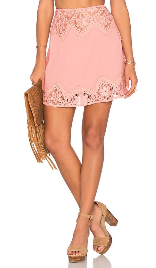 90393a176ce For Love   Lemons x REVOLVE Skirt in Pink