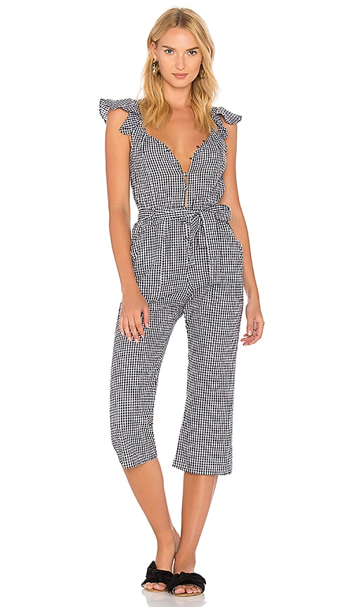 For Love Lemons Gingham Jumpsuit In Gingham Revolve