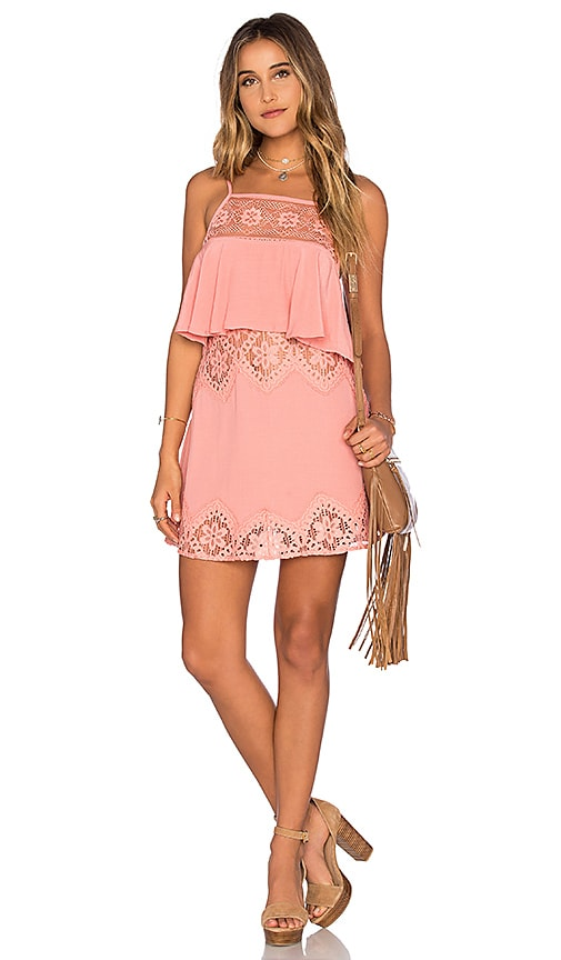 For Love & Lemons x REVOLVE Tank in Pink