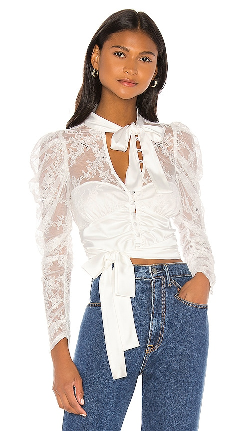 Farrah Button Up Blouse
