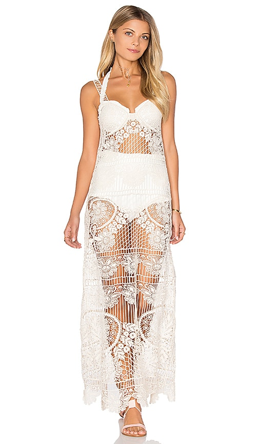 Maldives Crochet Dress