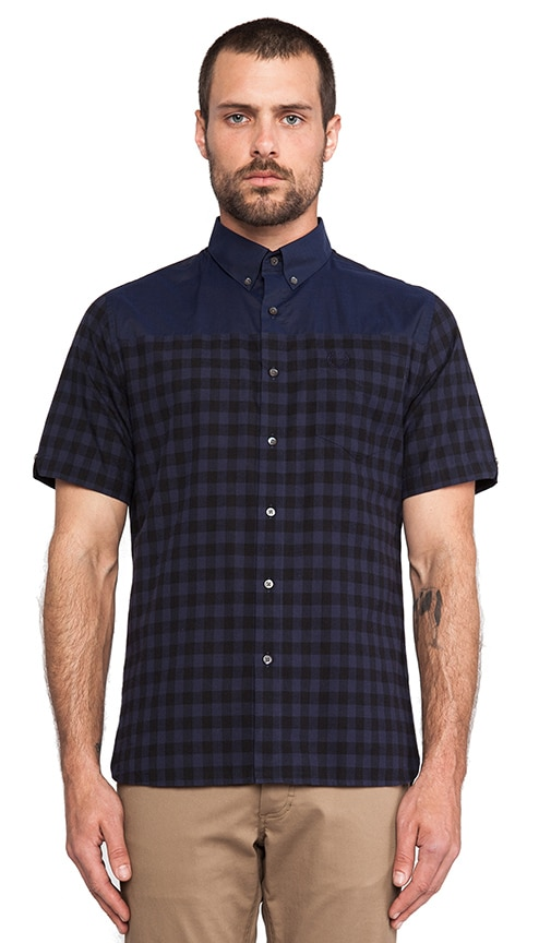 Graphic Block Gingham Shirt