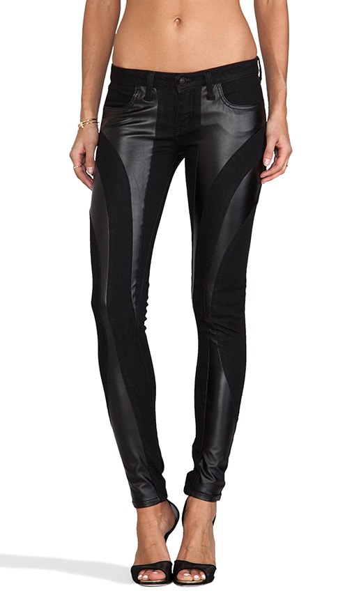 Frankie B  Jeans EXCLUSIVE Bionic Stretch Vegan Leather