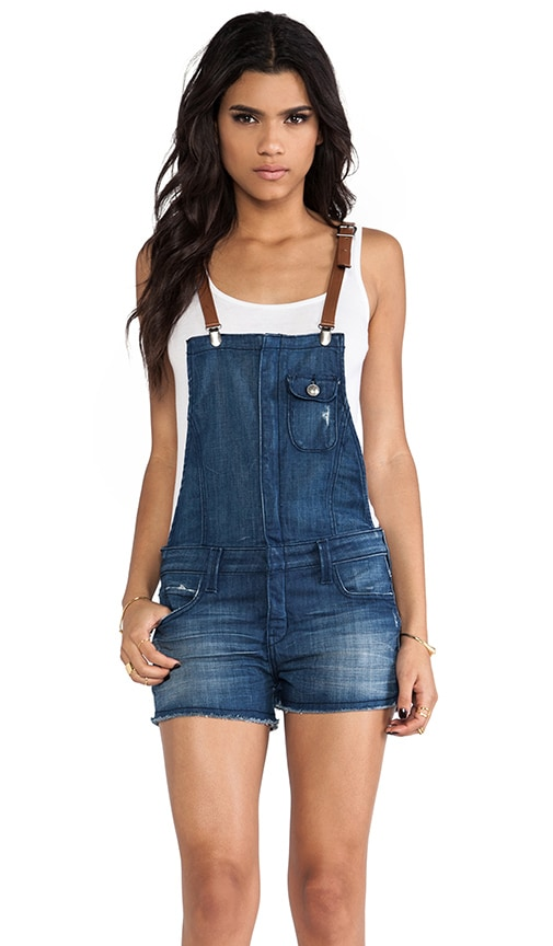 Hipster Short Overalls