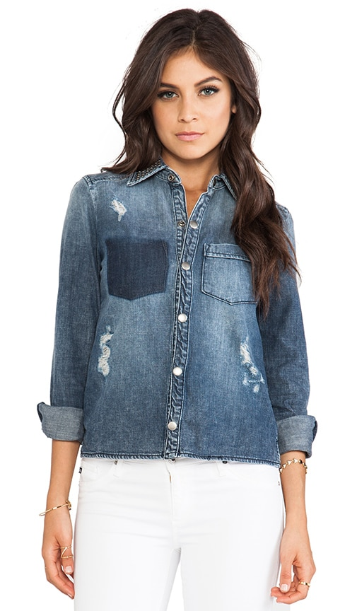 Lover Denim Top