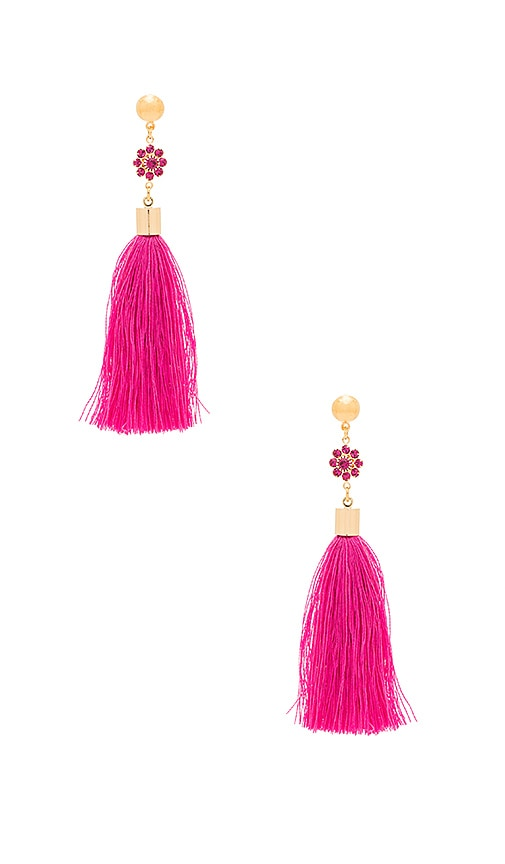 Frasier Sterling Margarita Earrings in Metallic Gold