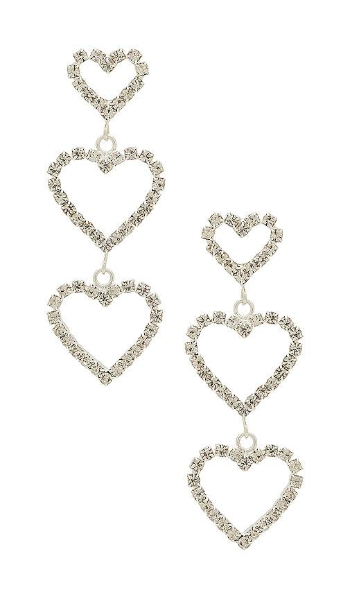 Frasier Sterling Spoiled Earrings in Metallic Silver