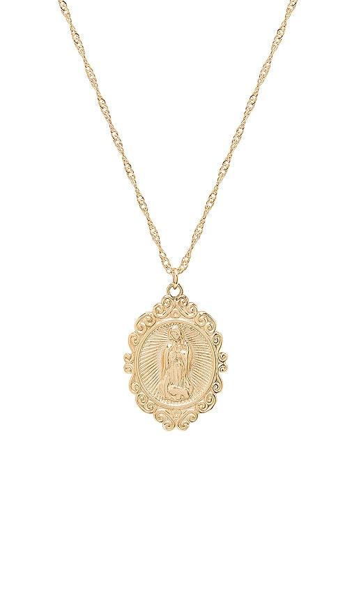 I Got Your Back Necklace in Metallic Gold Frasier Sterling EDivCTE