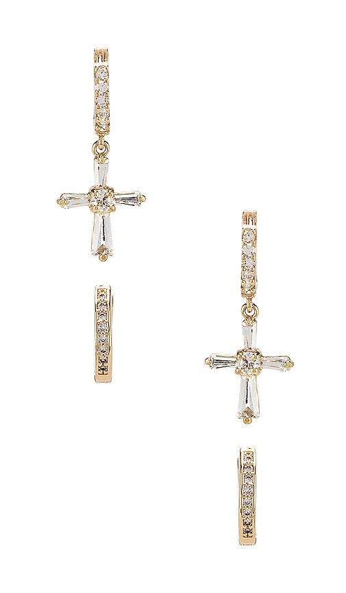 Saint Tropez & Venezia Huggie Earring Set