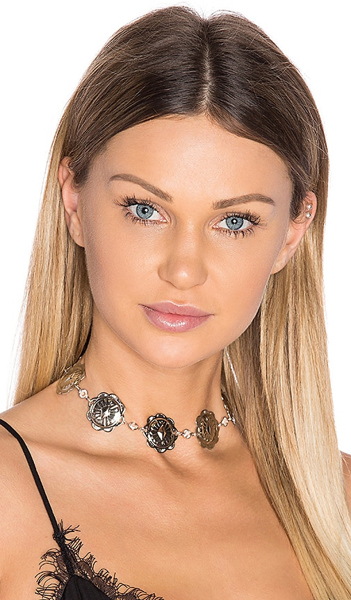 Frasier Sterling x REVOLVE Spellbound Choker in Metallic Silver