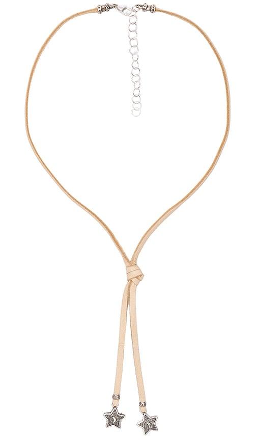 Frasier Sterling Ranger Necklace in Beige