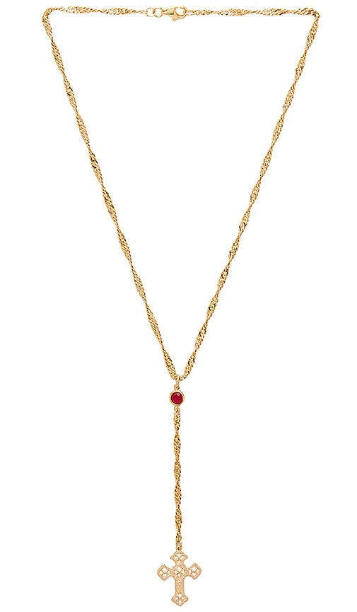 Frasier Sterling Bad Habits Necklace in Metallic Gold