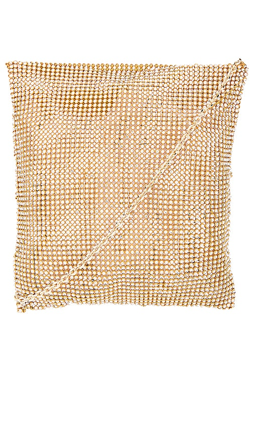 Frasier Sterling After Party Crossbody in Metallic Gold