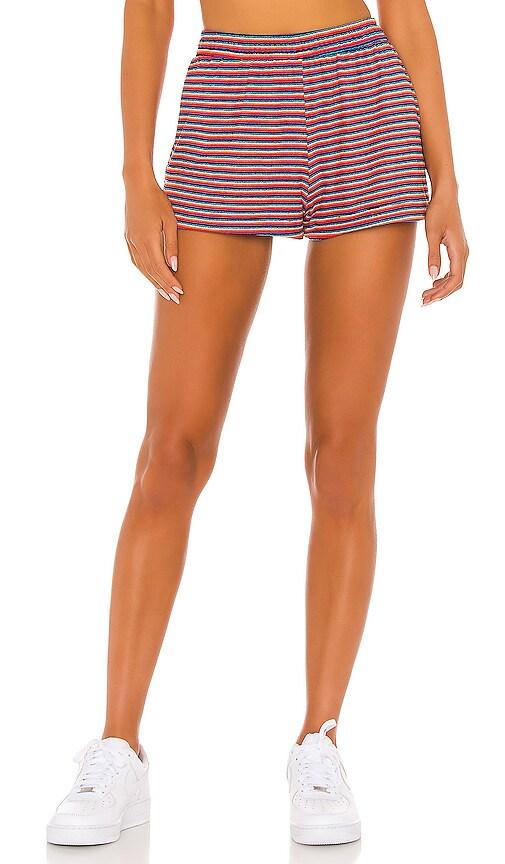 Frankies Bikinis Coco Short in Sunset Stripe | REVOLVE