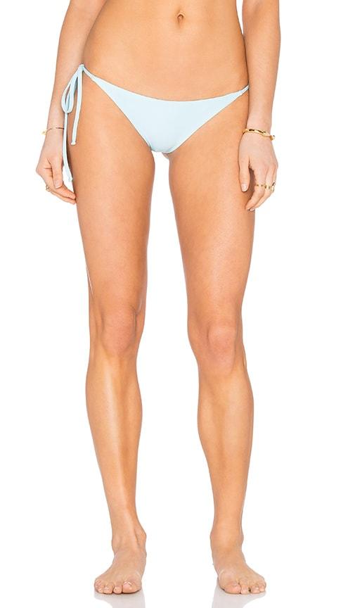 Frankies Bikinis Marley Bikini Bottom in Baby Blue