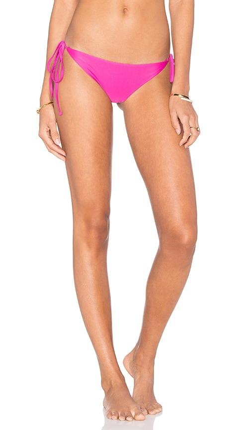 Frankies Bikinis Marley Bikini Bottom in Pink