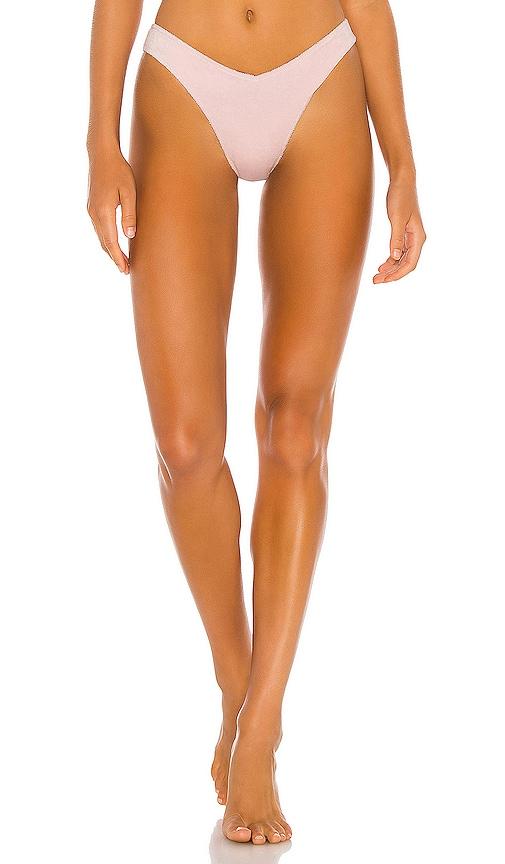 Frankies Bikinis BARB TERRY BIKINI BOTTOM