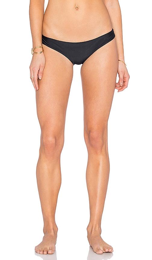 Frankies Bikinis Marina Bikini Bottom in Black