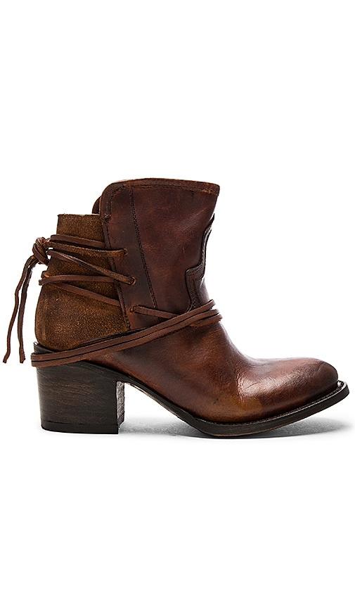 Freebird by Steven Casey Bootie in Cognac