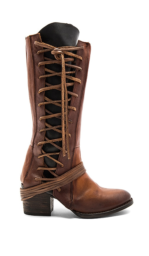 Freebird by Steven Cash Boot in Cognac