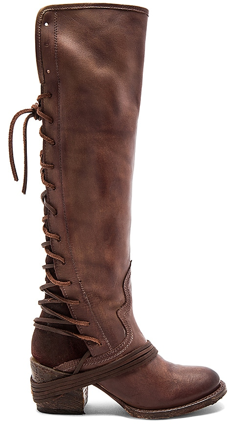 Freebird by Steven Coal Boot in Brown