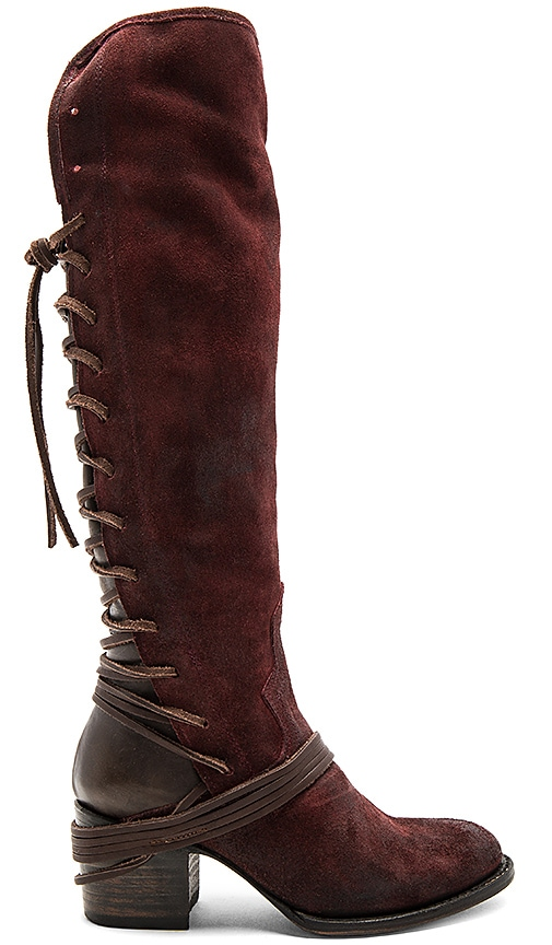 Freebird by Steven Coal Boot in Burgundy